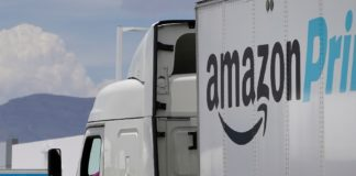 Amazon Transportation Service is a unit of Amazon.com that has its vans and trucks used to deliver the products from one Amazon location to another.