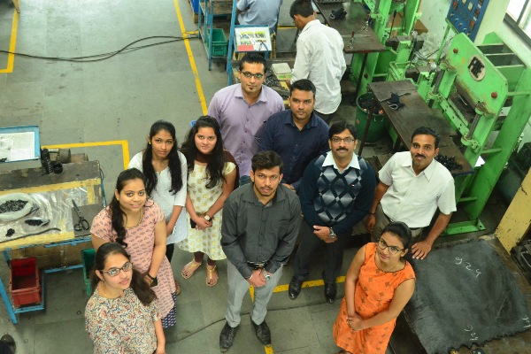 Trixware Technologies - Team at a Customer Location