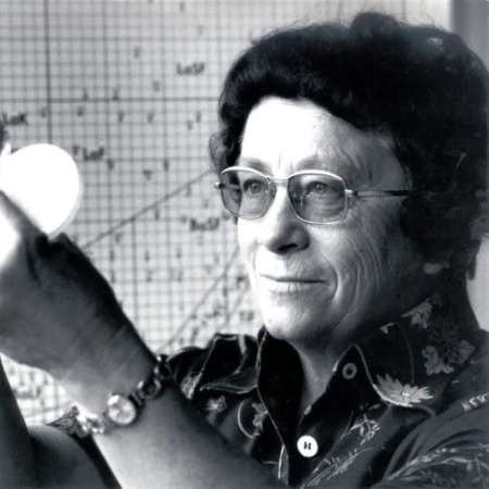 Marga Faulstich was a Glass Chemist from Germany born who worked for Schott AG for 44 years, during which she worked on 300 types of optical glasses.